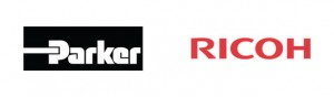 Parker Hannifin and Ricoh logos