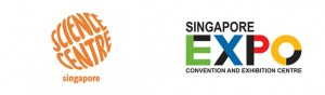 Science Centre Singapore and Singapore Expo logos